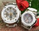 恋人達のGショックペアウォッチ G-SHOCK BABY-G ペア腕時計 カシオ 2本セット gショック ベビーg デジタル アナデジ GST-W300-7AJF BGA…