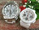 恋人たちのGショック ペア G-SHOCK BABY-G ペアウォッチ ペア腕時計 カシオ 2本セット gショック ベビーg GST-W310-7AJF BGA-2500-7AJF…