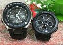 恋人たちのGショック ペアウオッチ G-SHOCK BABY-G ペア腕時計 カシオ 2本セット gショック ベビーg アナデジ GST-W300-1AJF BGA-2500-…