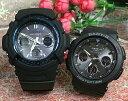 恋人たちのGショックペアウォッチ G-SHOCK BABY-G ペア腕時計 カシオ 2本セット gショック 電波ソーラー AWG-M100A-1AJF BGA-2500-1AJF…