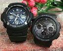 恋人たちのGショック ペアウォッチ G-SHOCK BABY-G ペア腕時計 カシオ 2本セット gショックブラック 黒 電波ソーラー AWG-M100SB-2AJF…