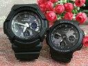 恋人たちのGショックペアウォッチ G-SHOCK BABY-G ペア腕時計 カシオ 2本セット gショック 電波ソーラー GAW-100B-1AJF BGA-2500-1AJF…