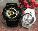 恋人たちのGショック ペアウオッチ G-SHOCK BABY-G ペア腕時計 カシオ 2本セット gショック ベビーg GA-110GB-1AJF BGA-100-7B3JF プレ…