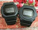 恋人たちのGショック ペアウオッチ G-SHOCK ペア腕時計 カシオ DW-5600BB-1JF DW-5750E-1BJF プレゼント ギフト ラッピング無料 メッセ…
