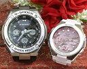 恋人たちのGショックペア G-SHOCK BABY-G ペアウォッチ ペア腕時計 カシオ 2本セット gショック 電波ソーラー GST-W110-1AJF MSG-W100-…