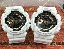 恋人たちのGショック ペアウオッチ G-SHOCK ペア腕時計 GSHOCK ジーショック カシオ 男女兼用 メンズ レディース 双子コーデ GA-110RG-…