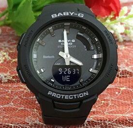 BABY-G G-SQUAD カシオ BSA-B100-1AJF Bluetooth対応 クオーツ プレゼント腕時計 ギフト 人気 ラッピング無料 baby-g携帯電話との無線通信による機能連動 国内正規品 新品 メッセージカード手書きします あす楽対応