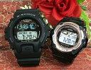 恋人たちのGショック ペアウオッチ G-SHOCK BABY-G ペア腕時計 カシオ 2本セット gショック ベビーg GW-6900-1JF BGR-3003-1JF デジタ…