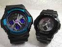 恋人たちのGショックペアウオッチ G-SHOCK BABY-G ペア腕時計 カシオ 2本セット gショック 電波ソーラー GAW-100BL-1AJF BGA-1110GR-1B…
