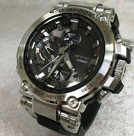 国内正規品 カシオCASIO 腕時計 G-SHOCK ジーショック MT-G Bluetooth 搭載 電波ソーラー MTG-B1000-1AJF メンズ 人気 ラッピング無料 電波ソーラー g-shock ブラック メタルブレスあす楽対応