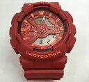 国内正規品 新品 Gショック G-SHOCK カシオ メンズウオッチ gショック アナデジ GA-110AC-4AJF プレゼント 腕時計 ギフト 人気 赤レッド ラッピング無料 愛の証 感謝の気持ち g-shock メッセージカード手書きします あす楽対応