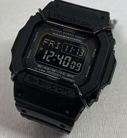 カシオ CASIO 腕時計 G-SHOCK ジーショック DW-D5600P-1JF メンズ腕時計 オールブラックの人気モデルです