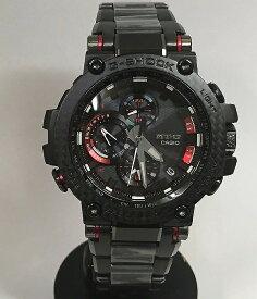 カシオ腕時計 ジーショック G-STEEL Bluetooth 搭載 ソーラー カーボンコアガード構造 MTG-B1000XBD-1AJF メンズ ゴールドがワンポイント 人気 ラッピング無料 電波ソーラー g-shock ブラックあす楽対応