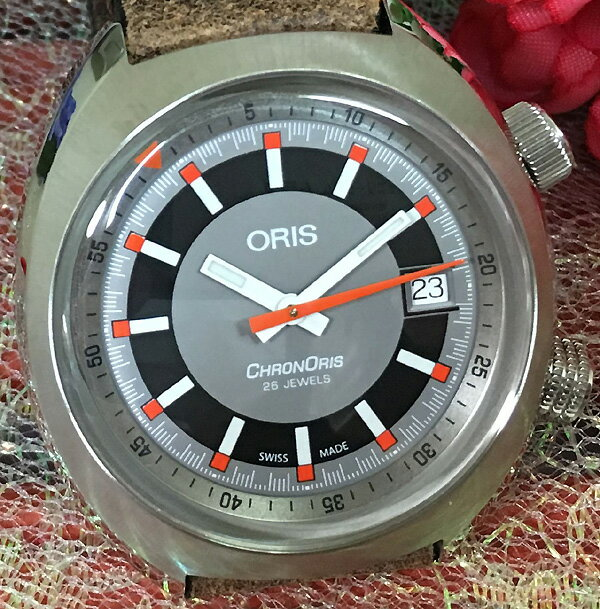 30%OFF 新品 ORIS オリス 腕時計 メンズ ウォッチ クロノリス 733.7737.4053FLBR ビンテージなベルトが良いですね ギフト 人気 ラッピング無料 国内正規3年保証