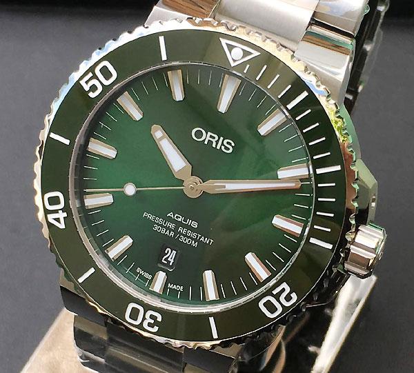 20%OFF 新品 ORIS オリス 腕時計 メンズ ウォッチ アクイスダイバーズ 733.7730.4157M ギフト 人気 ラッピング無料 国内正規3年保証
