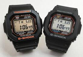 恋人たちのGショック ペアウオッチ G-SHOCK ペア腕時計 G-SHOCK ジーショック カシオ GW-M5610R-1JF GW-M5610-1JF デジタル 電波 ソーラー プレゼント ラッピング無料 メッセージカード手書きのメッセージカードお付けいたします g-shock あす楽対応 クリスマスプレゼント