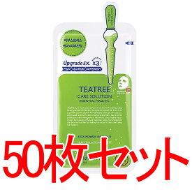 【正規輸入品】Mediheal メディヒール ティーツリーケアソリューション・エッセンシャル・マスクパック10枚入り5箱
