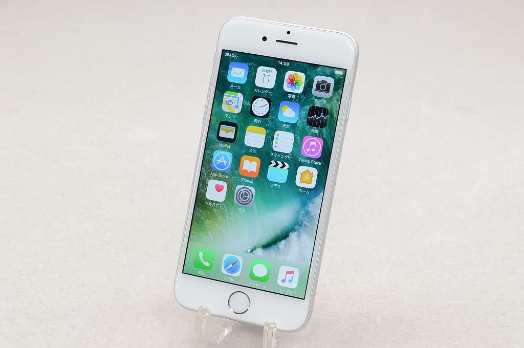 【中古】SoftBank Apple SoftBank iPhone6 64GB シルバー