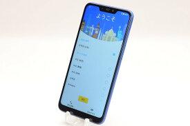 【中古】SIMフリー ASUS ZenFone Max(M2) ZB633KL-BL64S4 スペースブルー