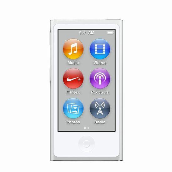 【展示品】Apple 第7世代(2015年モデル) iPod nano MKN22J/A(同等品) 16GB ホワイト&シルバー