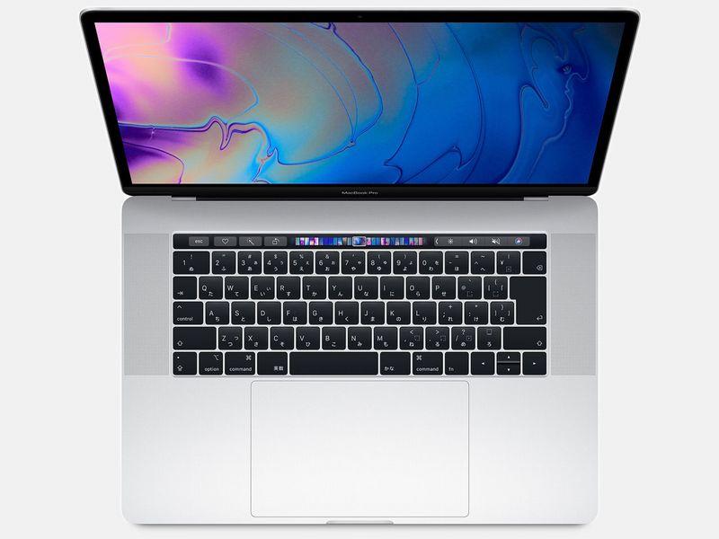 【 Z0V20009G 】 MacBookPro15 (2018) シルバーCTOモデル(ベースモデル MR962J/A)
