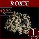 【5/9再入荷! 2017春夏 5サイズ】 rx641 新品 ROKX ロックス CAMOUFLAGE SHORT ダックハンター カモフラージュ ショートパンツ RXMS6214 RXMS7219