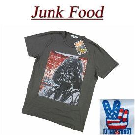 【US規格 5サイズ】 az951 新品 JUNK FOOD USA産 DARTH VADER ダースベイダー 半袖 Tシャツ メンズ ジャンクフード ダースベーダー STAR WARS スターウォーズ ティーシャツ JunkFood MADE IN USA 【smtb-kd】