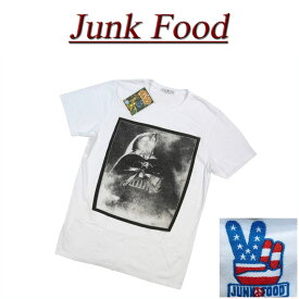 【US規格 5サイズ】 ab071 新品 JUNK FOOD USA産 DARTH VADER ダースベイダー 半袖 Tシャツ メンズ S2426-7730 ジャンクフード STAR WARS スターウォーズ ティーシャツ JunkFood MADE IN USA 【smtb-kd】