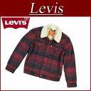 【6サイズ】 af252 新品 Levis USライン サードタイプ 裏パイルボア ウール混 チェック柄 ジャケット メンズ リーバイ…