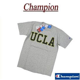 【4サイズ】 ja481 新品 Champion × UCLA コラボ USA製 染み込みプリント 半袖 Tシャツ C5-H303 メンズ T1011 チャンピオン ティーテンイレブン カレッジプリント ティーシャツ トリコタグ MADE IN USA