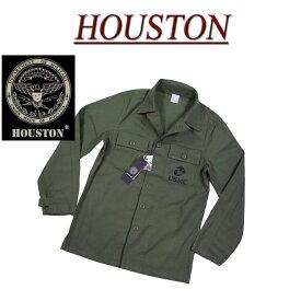 【3サイズ】 jb311 新品 HOUSTON USMC 長袖 コットン ミリタリーシャツ ジャケット 40265 メンズ ヒューストン L/S USMC MILITARY SHIRT JACKET U.S.MARINE CORPS ワークシャツ 軍シャツ アメカジ