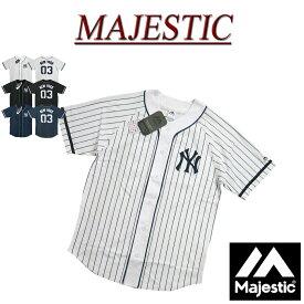 【3色3サイズ】 jb451 新品 MAJESTIC ニューヨーク ヤンキース ピンストライプ ラグランスリーブ ベースボールシャツ MM21-NYK-0021 メンズ マジェスティック New York Yankees MLB OFFICIAL WEAR NY