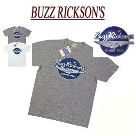【2色4サイズ】 nz911 新品 BUZZ RICKSON'S 日本製 SLAB YARN T-SHIRT スラブ地 半袖 Tシャツ BR77263 メンズ バズリクソンズ ティーシャツ Made in JAPAN 【smtb-kd】