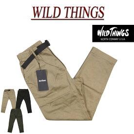 【4サイズ】 gm541 新品 WILD THINGS SATIN STRETCH THINGS PANTS サテン ストレッチ シングスパンツ WT18123AD メンズ ワイルドシングス クライミングパンツ 【smtb-kd】