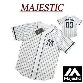 【6/25再入荷! 2019春夏 5サイズ】 jc861 新品 MAJESTIC ニューヨーク ヤンキース ピンストライプ ラグランスリーブ ベースボールシャツ MM21-NY-9S07 メンズ マジェスティック New York Yankees MLB OFFICIAL WEAR NY 【smtb-kd】