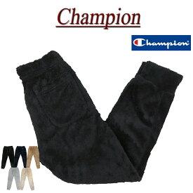 【30%off 5色5サイズ】 jb982 新品 Champion シェルパフリース ロングパンツ C3-L216 メンズ チャンピオン ボアフリースパンツ アメカジ BASIC ベーシック