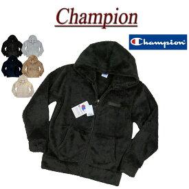 【20%off 5色5サイズ】 jc042 新品 Champion ワンポイント刺繍 シェルパフリース ジップパーカー C3-L615 メンズ チャンピオン フード ジップアップ ボアフリース パーカー BASIC ベーシック ジャケット