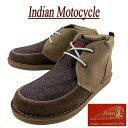【4サイズ】 fw871 新品 Indian Motocycle WALAPAI ワラパイ ファブリック × スウェード チャッカブーツ IND-11511 …