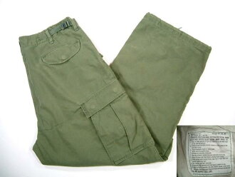 kpt475 M '72的美军M-65场裤衩US旧衣服军事ARMY