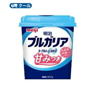 明治 ブルガリアヨーグルトLB81 甘みつき 【クール便】(400g×6コ) 食べる
