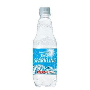 サントリー 天然水スパークリング 500ml ペットボトル 24本入〔炭酸水 スパークリングウォーター 天然水 南アルプス 南アルプスの天然水〕 炭酸水、タンサン水