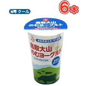 白バラ大山 のむヨーグルトPET【180g×6本】 クール便/