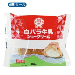 白バラ 牛乳 シュークリーム 12個【クール便】  シュークリーム 洋菓子 スイーツ