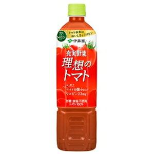 伊藤園 理想のトマト PET 900g×12本入 (野菜ジュース)〔ITOEN いとうえん トマトジュース 野菜ジュース りそうのとまと 大容量〕 1ケース単位【送料無料】