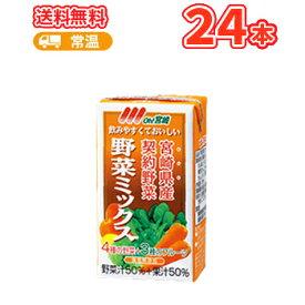 南日本酪農協同 デーリィ 野菜ミックス 125ml×24本入 九州 南日本酪農協同デーリィ 常温保存 ロングライフ送料無料