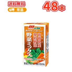 南日本酪農協同 デーリィ 野菜ミックス 125ml×24本入/2ケース 九州 南日本酪農協同デーリィ 常温保存 ロングライフ送料無料