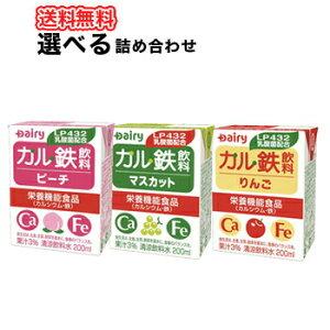 南日本酪農協同デーリィカル鉄飲料マスカットピーチりんごよりどり選べる2ケース200ml各種24本入/2ケース紙パックセット送料無料