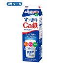 雪印 メグミルク すっきりCa鉄【1000ml×6本入】 送料無料 〔雪印 すっきりCa鉄 クール便 乳製品 牛乳 カルシ…