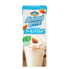 アーモンドブリーズ 砂糖不使用 200ml×24本 ポッカサッポロ 送料無料 Almond Breeze