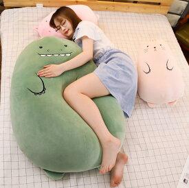 短納期 ぬいぐるみ アフリカ 抱き枕 インテリア 子供 おもちゃ 特大 動物 可愛い かわいい 彼女に ふわふわで癒される 柔らか 心地いい プレゼント 90cm ひつじ ニャンコ 豚ちゃん カバさん 熊ちゃん ドラゴン